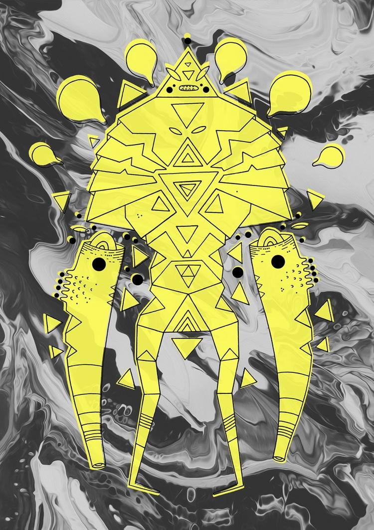 todays inktober wondrous maalav - cosmicnuggets | ello