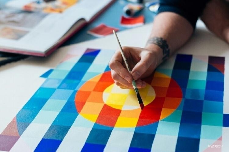 Progress... Photo - art, pattern - shaneomalleyart | ello