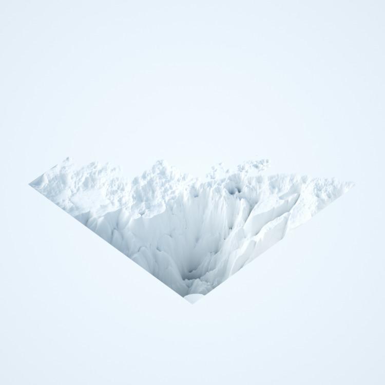 minimal, art, design, antarctica - grayalas | ello