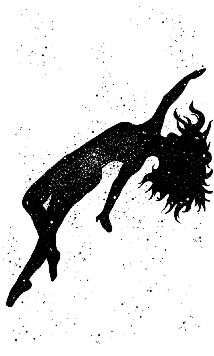 star, blindtarot, tarot, inkdrawing - inklining | ello
