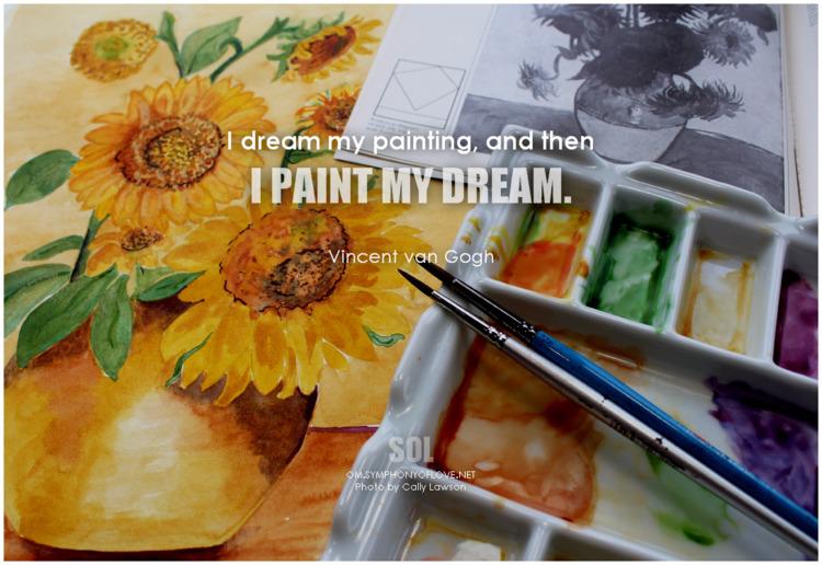 dream painting, paint dream. qu - symphonyoflove | ello