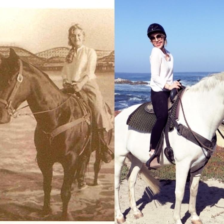 Jenna Gin pointed horseback rid - usual_anomaly | ello