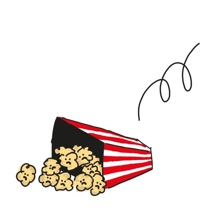Sad popcorns flemish newspaper  - timcolmant   ello