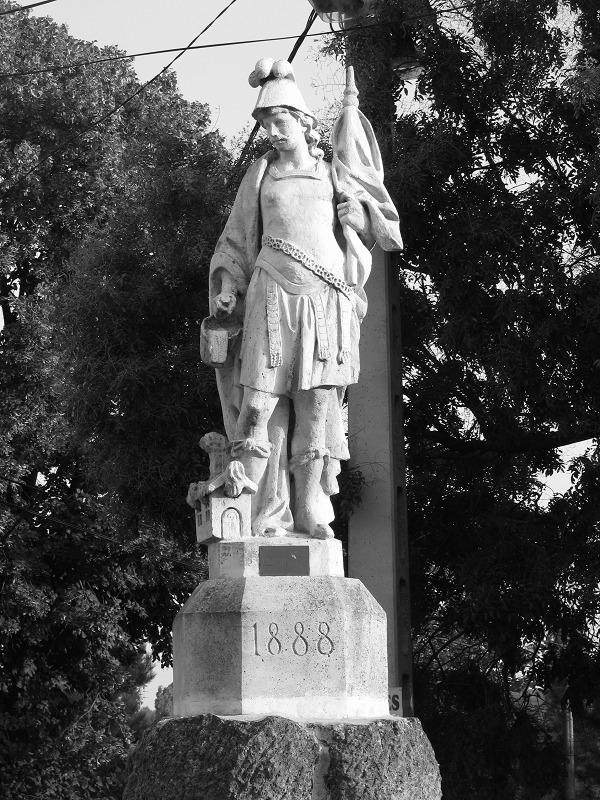 Szent Flórián szobor (Sóskút - latnivalo - turabazis | ello