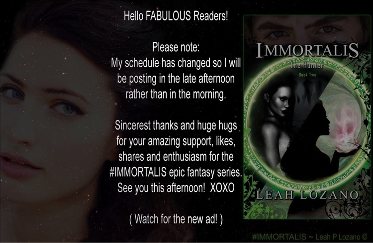 Posting Time! :green_heart:🖤 - IMMORTALIS - authorleahplozano | ello
