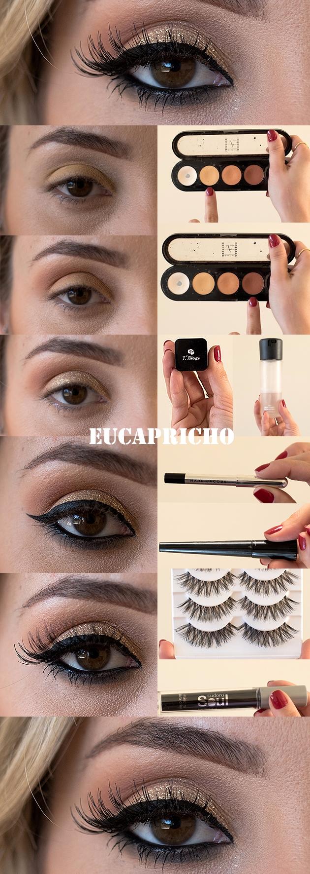 Esta maquiagem foi inspirada na - maquiagem_para_festa | ello