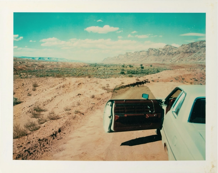 Wim Wenders thousands Polaroids - helka | ello