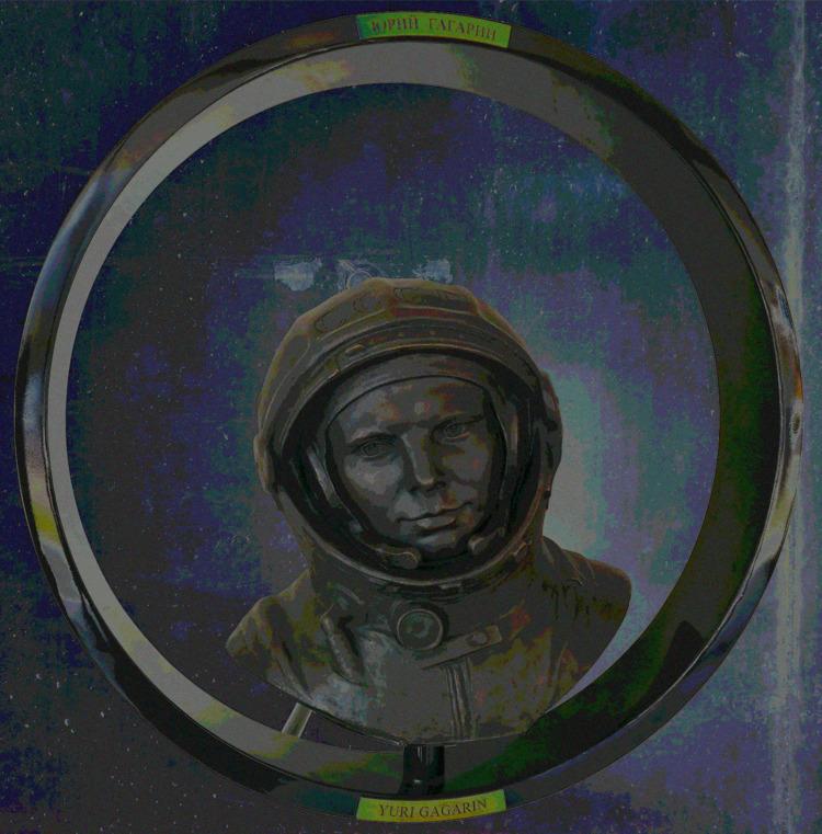 Man Space - Yuri Gagarin - damjanmaric | ello