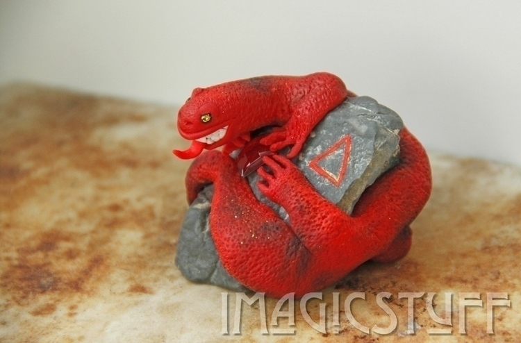 :fire:Fiery Salamander:fire:#an - i_magicstuff | ello
