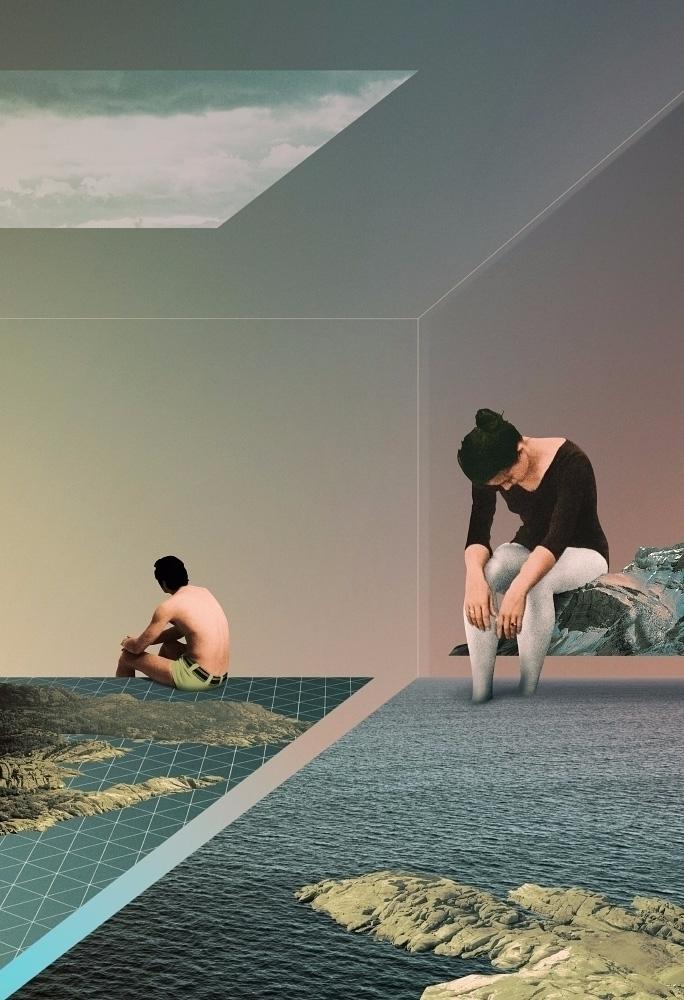 Kind Fatigue (2017 - collage, ellocollage - julienp | ello