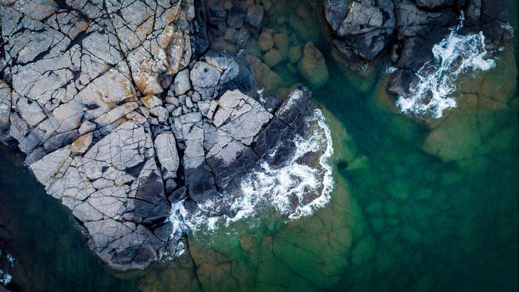 deep waters Lake Superior. Ston - toddhphoto | ello