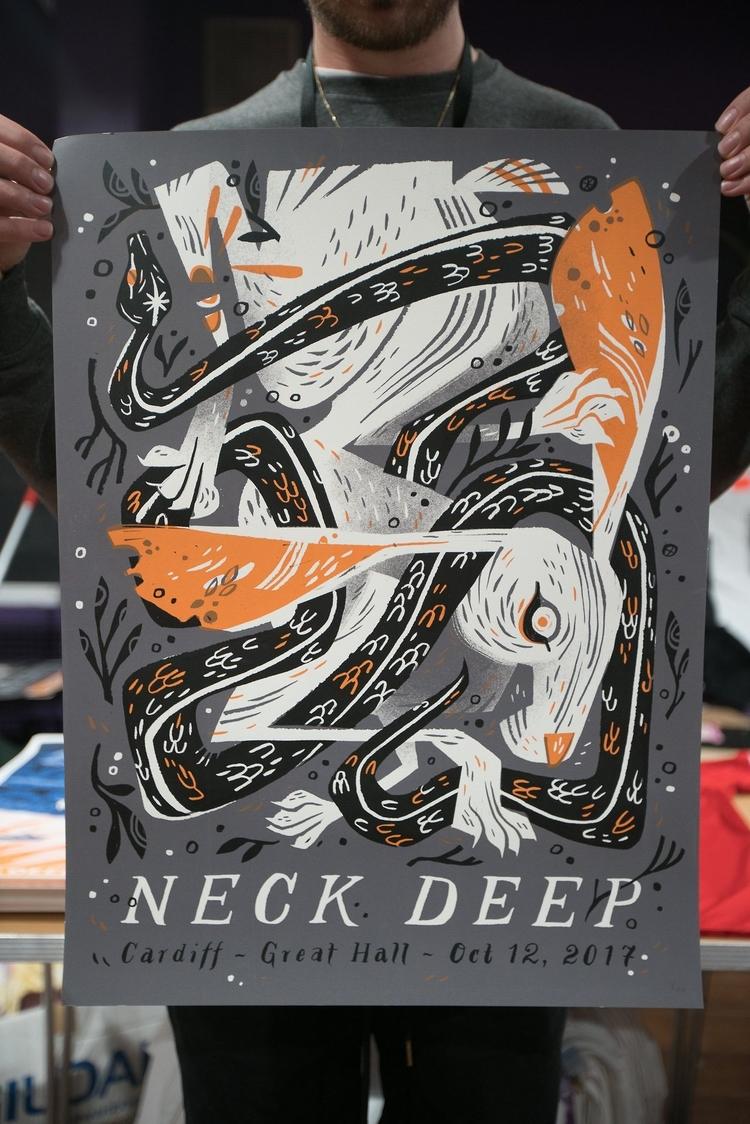 Neck Deep Pam Wishbow design po - bldgwlf | ello