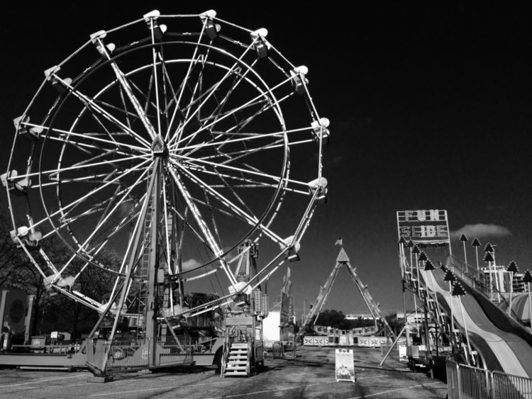 Carnival rest - blackandwhitephotography - davidjdeal | ello