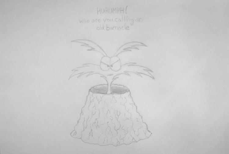 Barnacle - drawing, sketch, pencil - kut-n-paste | ello