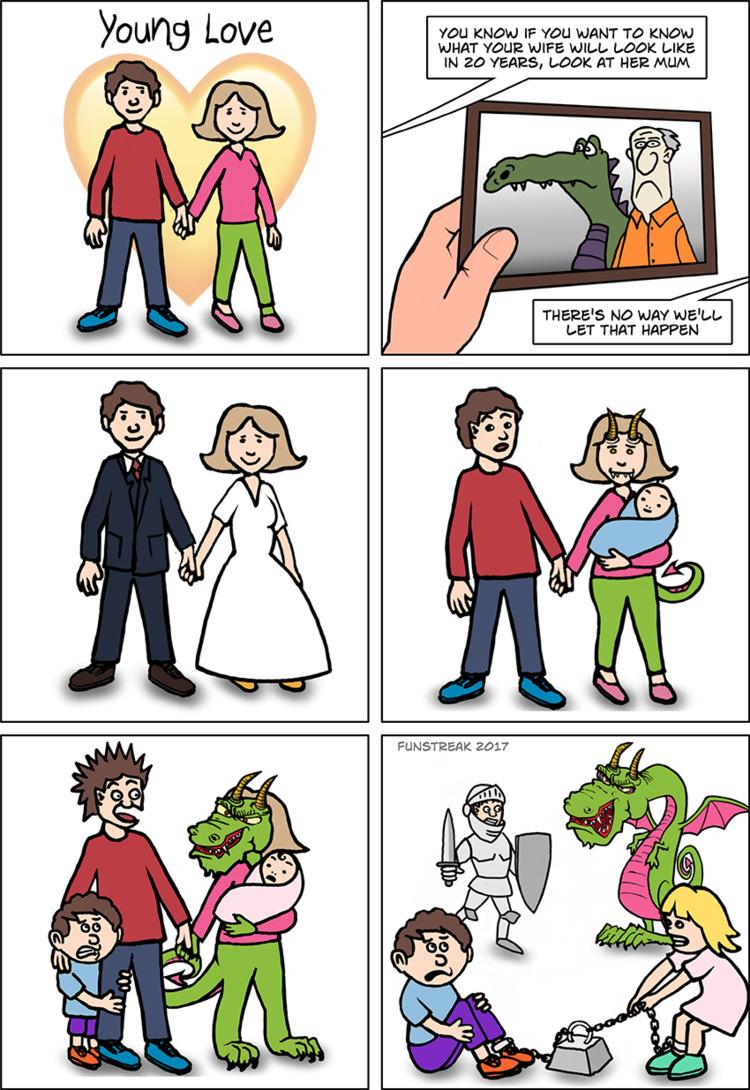 Marriage, dragon, wedding, love - rickatkinson | ello