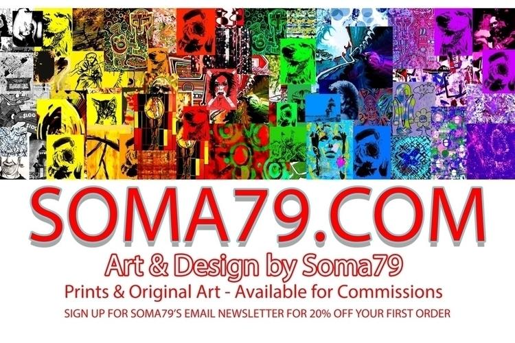 Art Soma79 20% order - art, artist - soma79 | ello