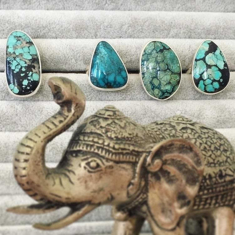 TURQUOISE Tibetan special uniqu - seagypsycollection | ello