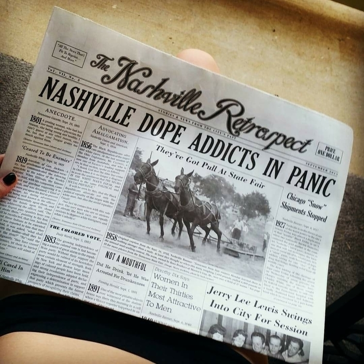 Morning Newspaper. 1927- Nashvi - westcoastin | ello