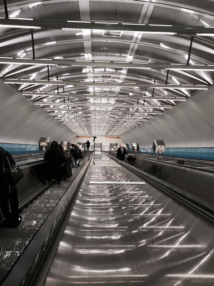 trainstation, nightroams, escalator - ryna | ello