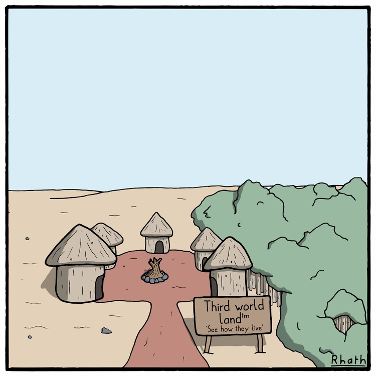 latest attraction - cartoon, cartoonist - rhath | ello