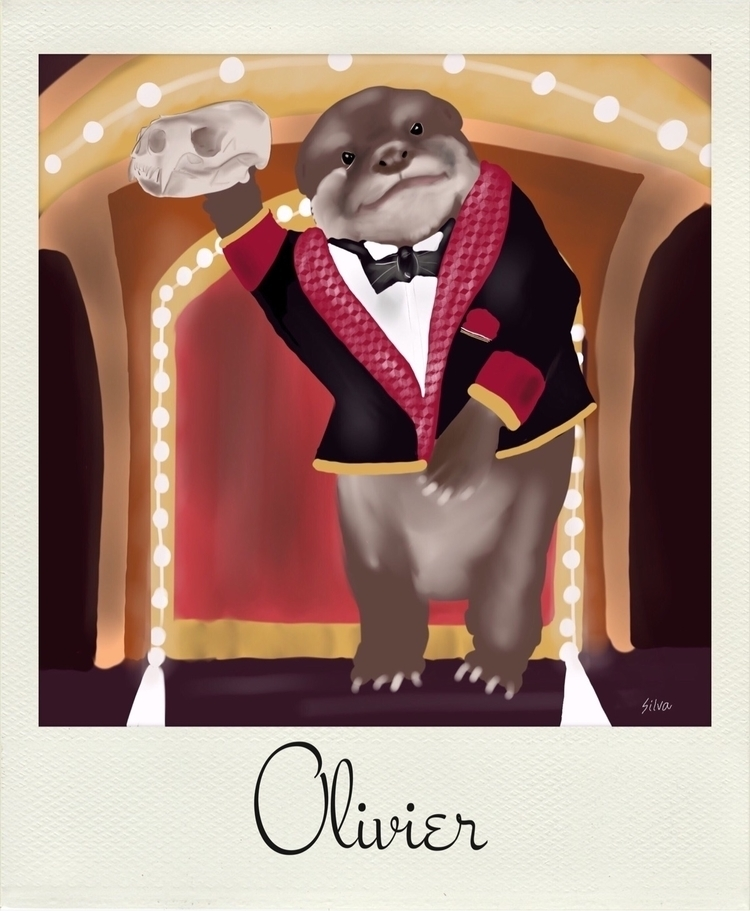 friend Olivier Oratorical Otter - nightrav3n | ello