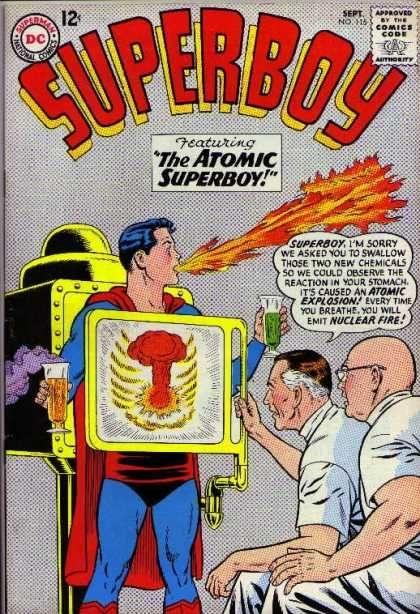 moment Superboy began researche - rleebyers | ello