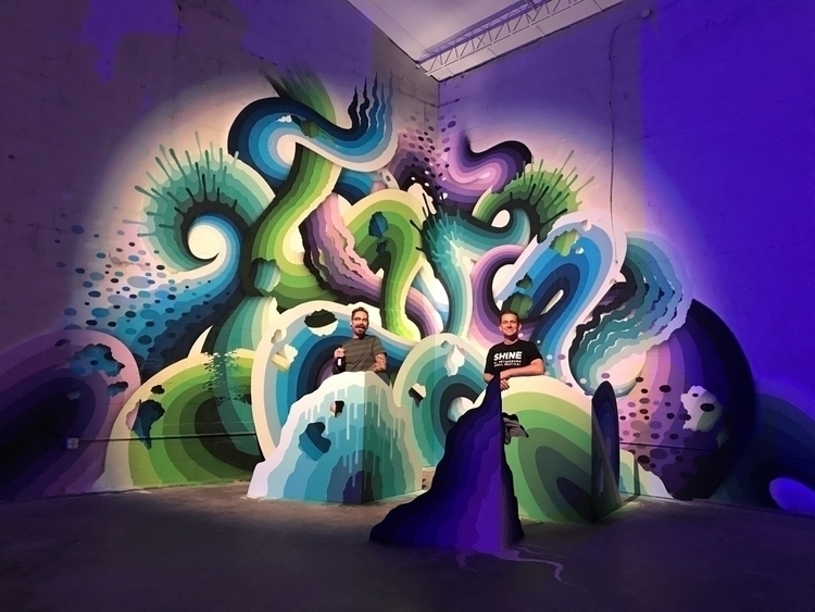 2017 SHINE Mural Festival wrap - rickywatts   ello