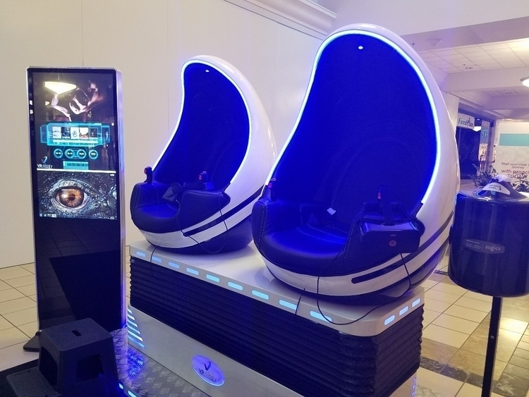 VRoligy mall kiosk experience - VR - 8bitcentral | ello