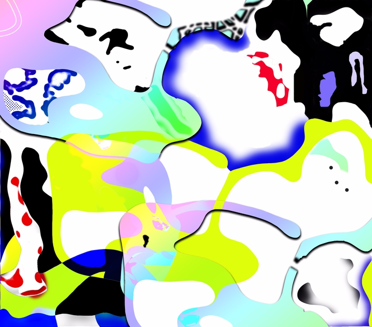 latest piece working - abstract - escapescapes | ello