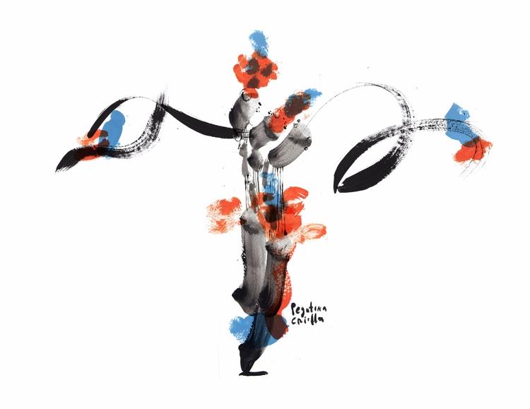 BODY DANCING Experiment acrylic - pegatinacriolla | ello