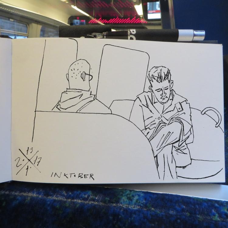 Suburban line fellow passengers - mentalhygiejne | ello