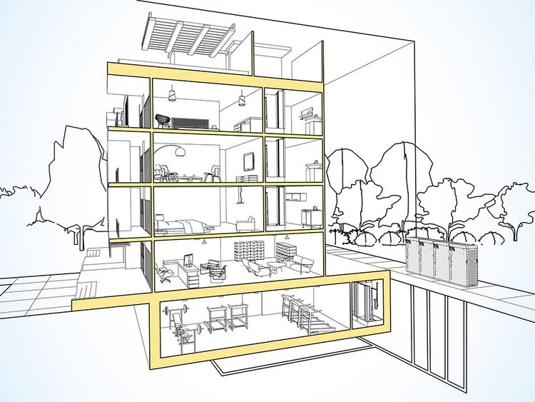 Architectural illustration show - jamesowendesign | ello