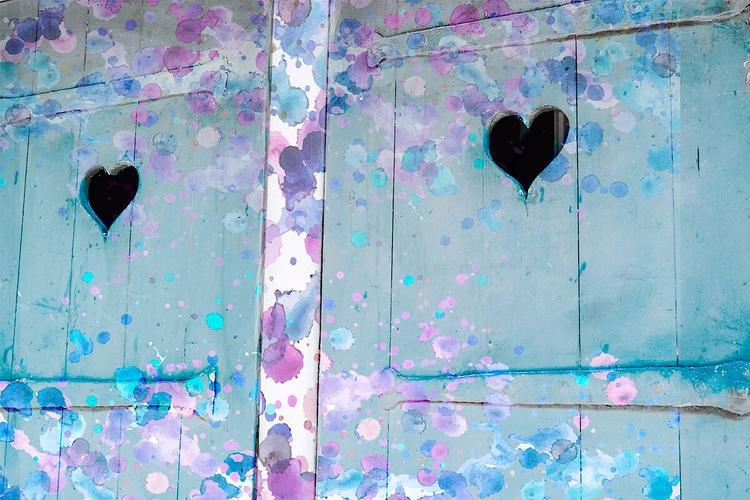 Watercolor Shutters artist girl - kokabella   ello
