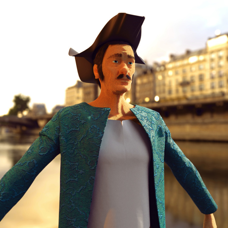 Honour #sailor - 3d, 3dmodel, model - solutuminvictus | ello
