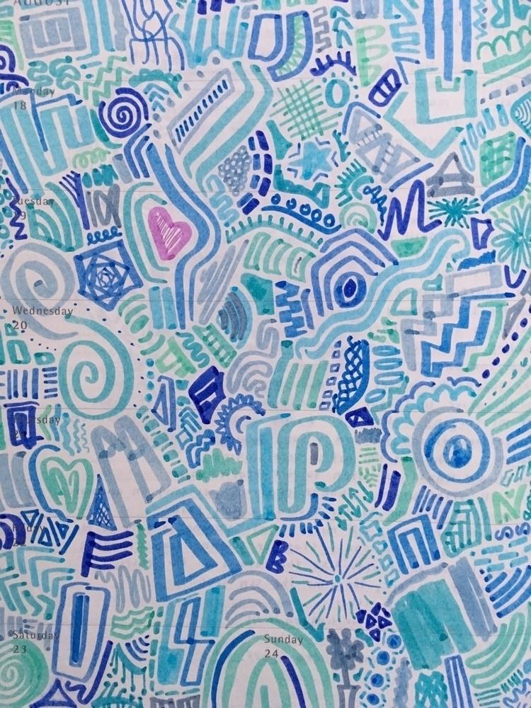 moleskine, doodle, crayola, markers - expelliarmus | ello