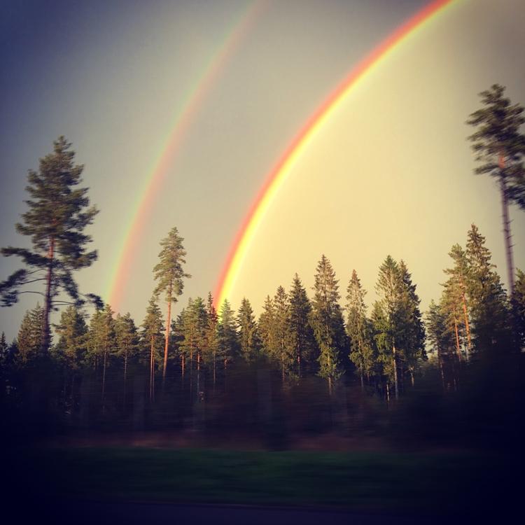 Rainbow nice sky - rainbow, color - stigergutt | ello