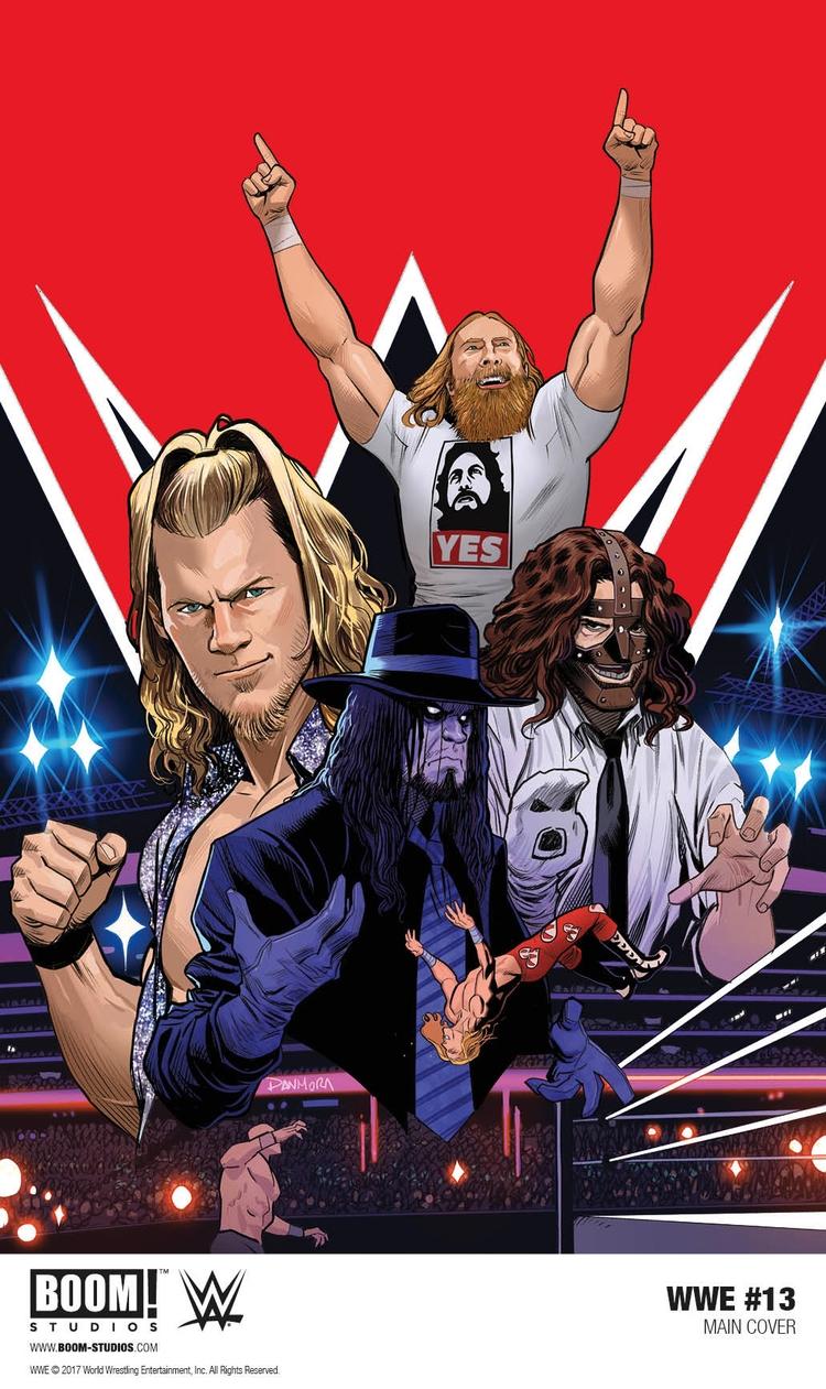 Samoa Joe Debut WWE Comics - 13. - comicbuzz | ello
