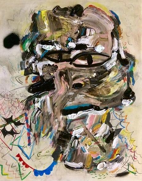 Ugly oil, graphite, wax crayon - earlmcbride | ello