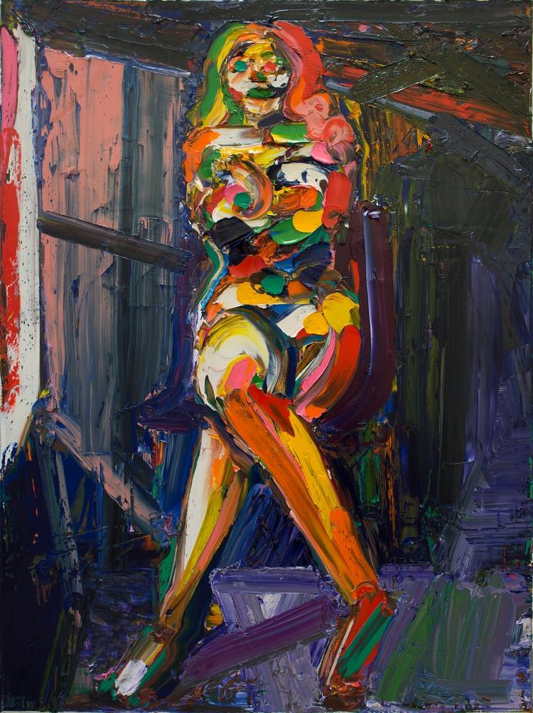 Anna Oil canvas, 48 36 inches,  - chunbumpark | ello