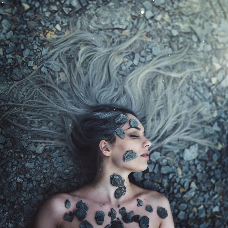 """Unearthed"" — Photographer:Jef - darkbeautymag | ello"
