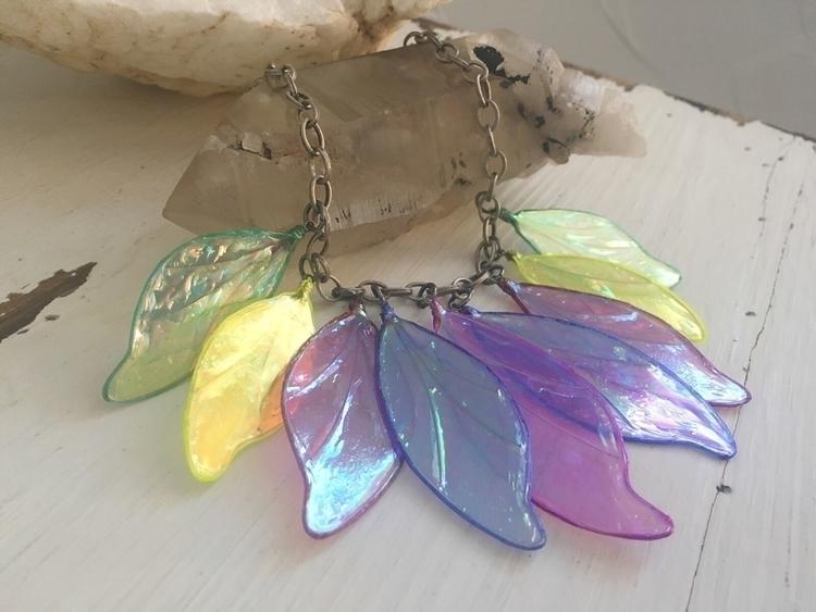 afraid color - jewelry, necklace - faerieblessings | ello