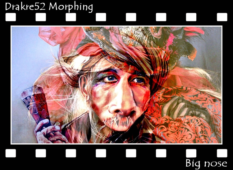 Big nose morphing. Film: Morphi - drakre52 | ello