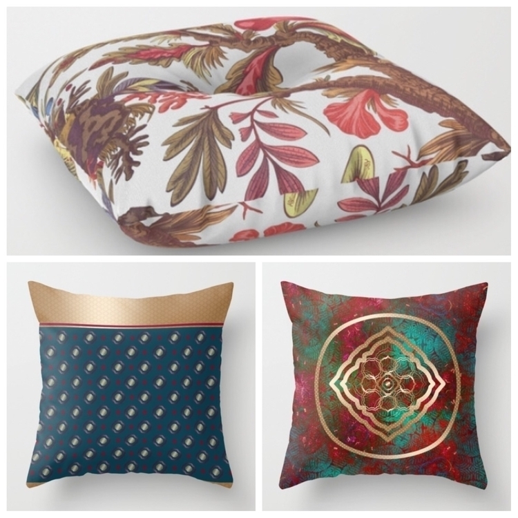 Variation floor throw pillows - pillow - trinkl | ello