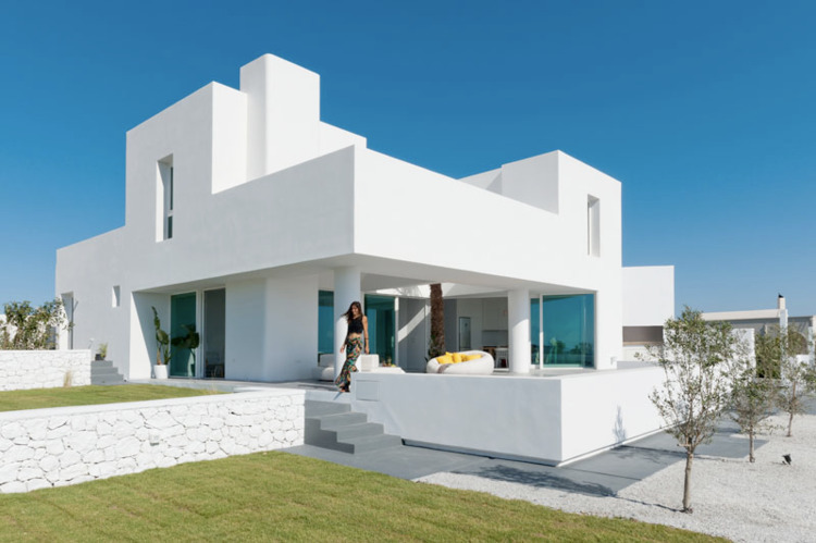 House Sea Views Sits Sloped Sit - red_wolf   ello