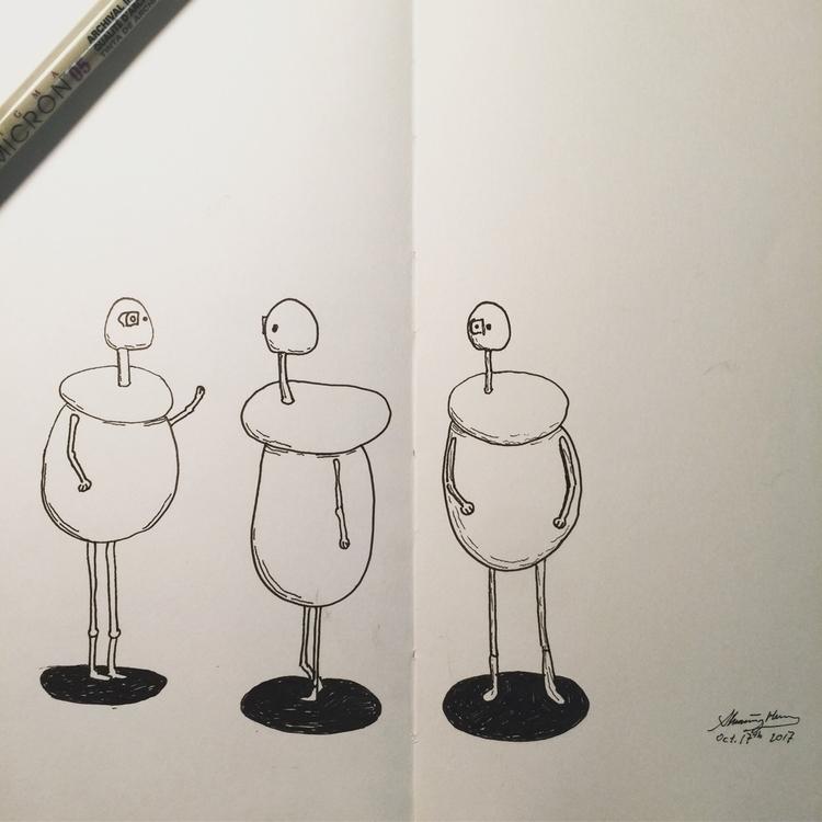 drawings challenge. long time d - shiming | ello