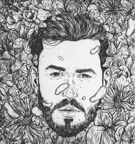 drawing, wip, illustration, portrait - nicolaenegura | ello