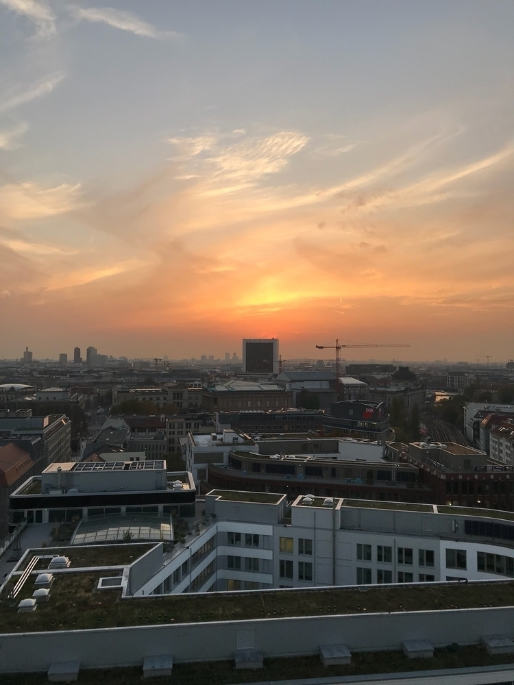 sundown, berlin, iphone - sascha-alexander | ello