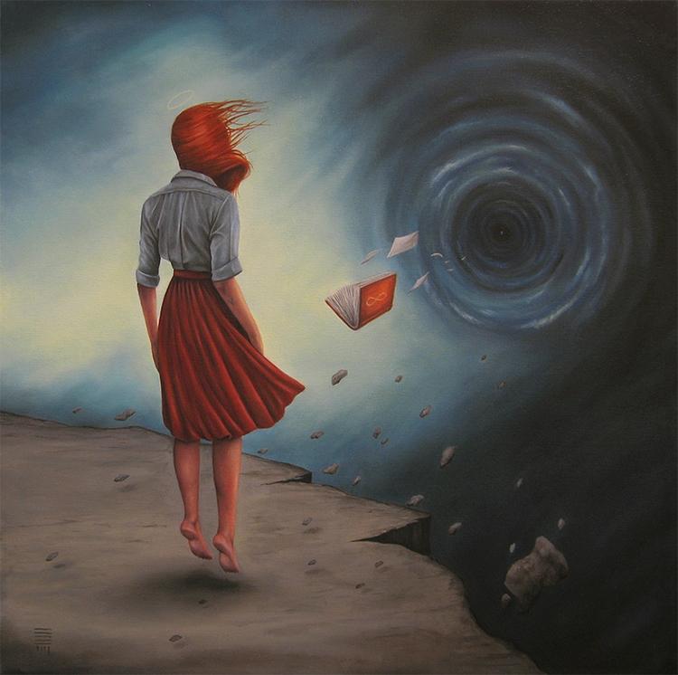 Scared' P54. wonderful painting - wowxwow | ello
