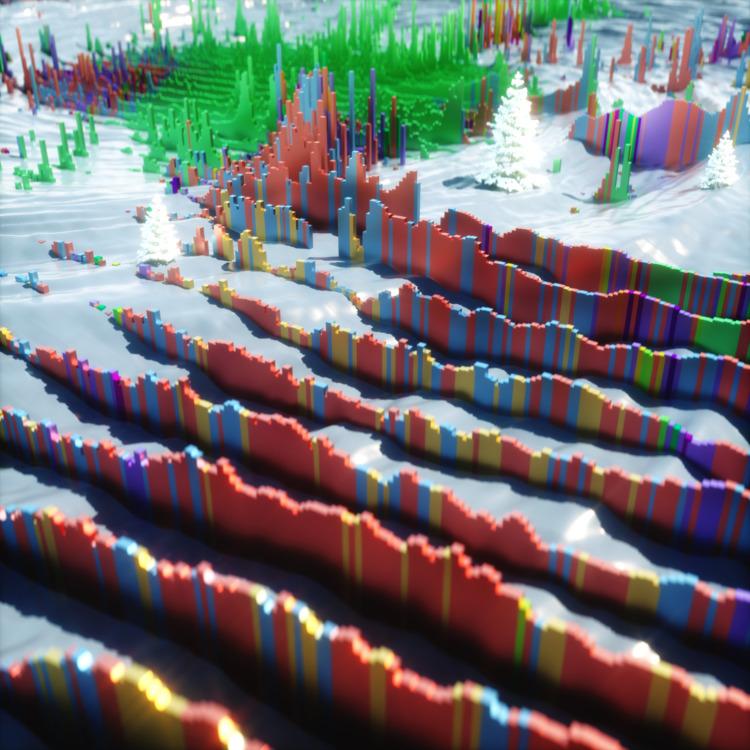 GeoLogical Stripes - studioxs, cesareperniola - studioxs | ello