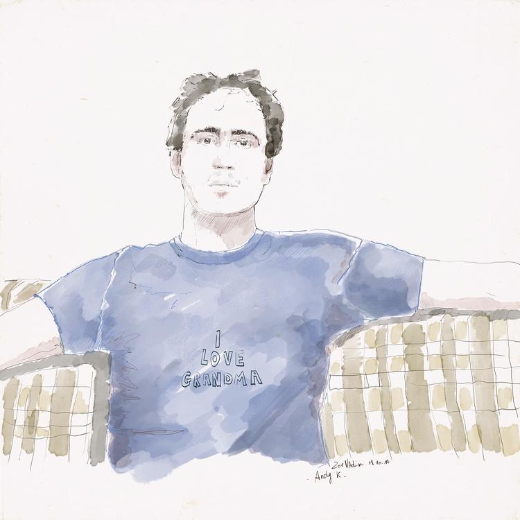 Andy - illustration, artwork, art - zoe_vadim | ello